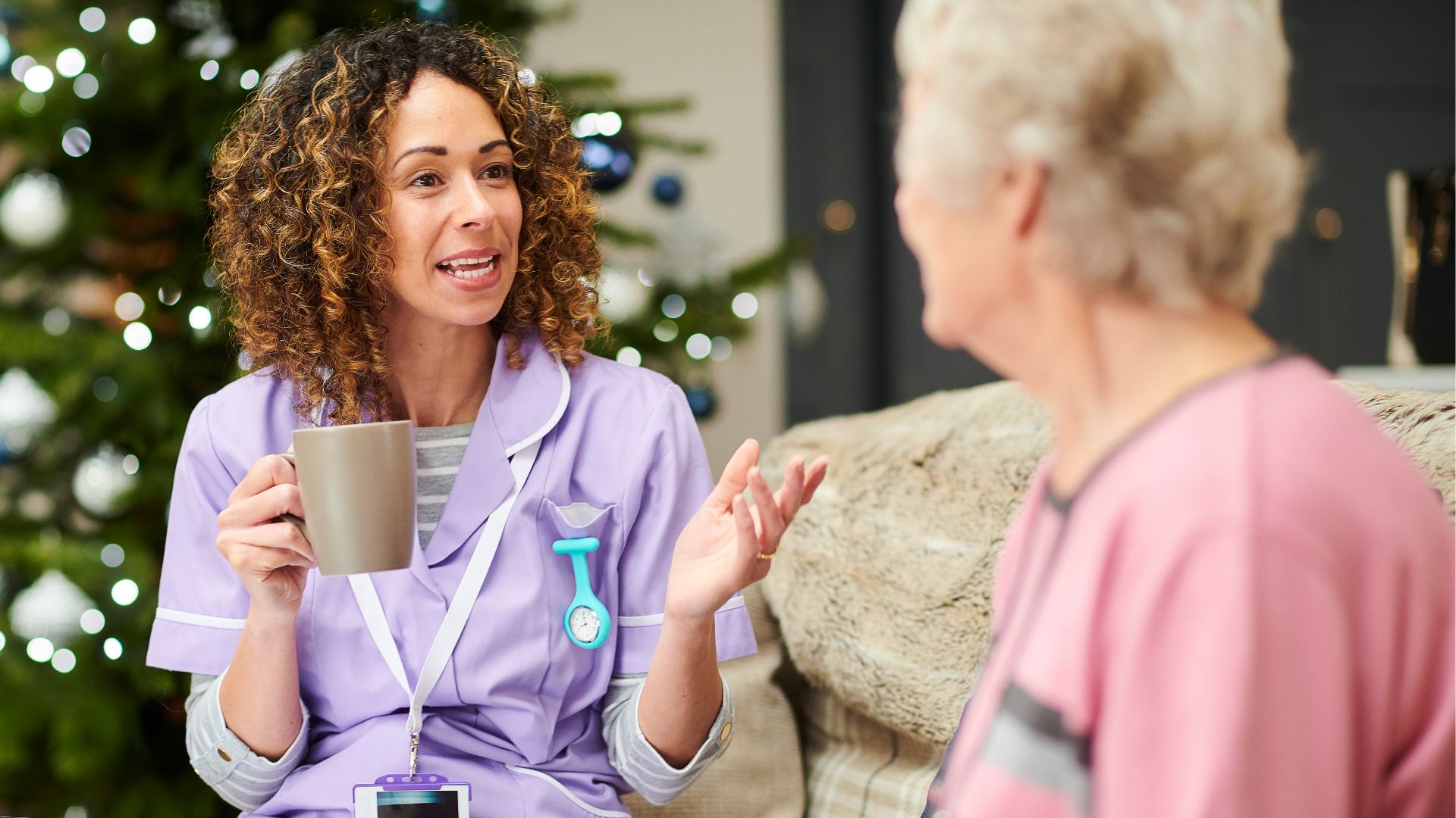 How Can Telecommunications Help Care Workers?